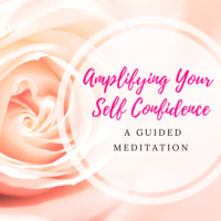 amplifying your self confidence meditation image