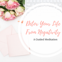 detox your life from negativity image