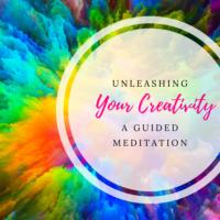 unleashing your creativity meditation graphic