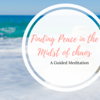 finding peace meditation image