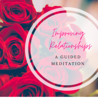 Improving relationships meditation image